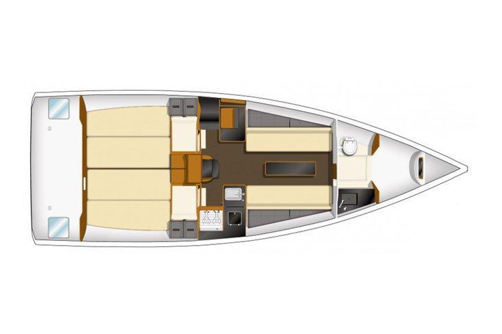 32.0 feet Jeanneau in great shape
