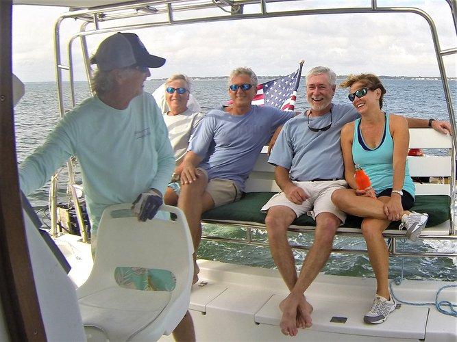 Boating is fun with a Catamaran in Gulf Breeze