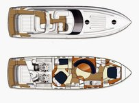thumbnail-14 Princess 58.0 feet, boat for rent in Split, HR