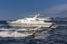 Enjoy the Mediterranean Sea in this spectacular and luxurious mega yacht