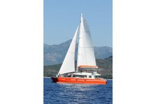 Cruise through the Mediterranean in this spacious Maxi Catamaran