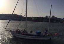 Beautiful classic sailboat