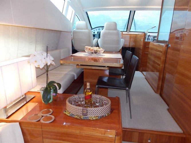 Motor yacht boat rental in Alimos, Athens, Greece,