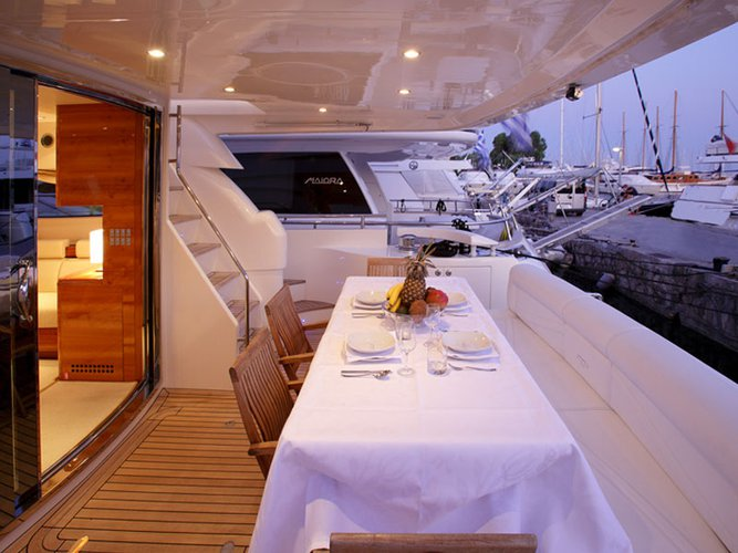 Boating is fun with a Motor yacht in Alimos