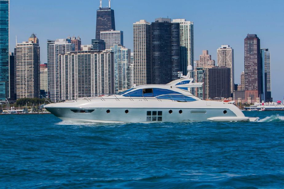 Luxury Boat Rentals Chicago Il Azimut Motor Yacht 6643