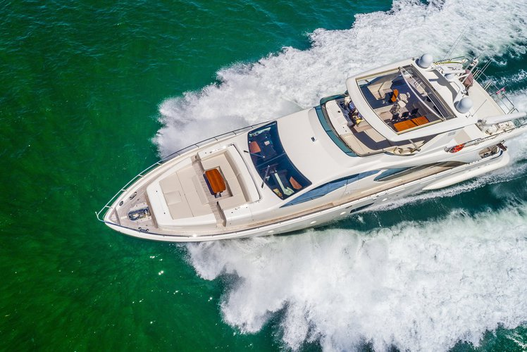 Cruise on an 85' Azimut Yacht through Miami