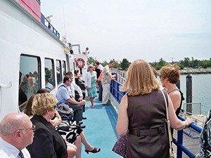 Catamaran boat for rent in Boston