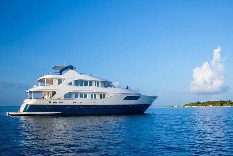 Motor yacht boat rental in Male,