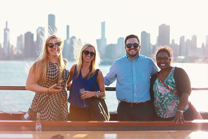 Motor yacht boat rental in Chicago, IL