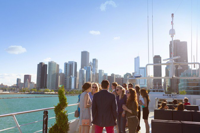 Boating is fun with a Motor yacht in Chicago