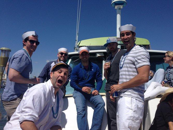 Rent a elegant motor yacht in Marina Del Ray