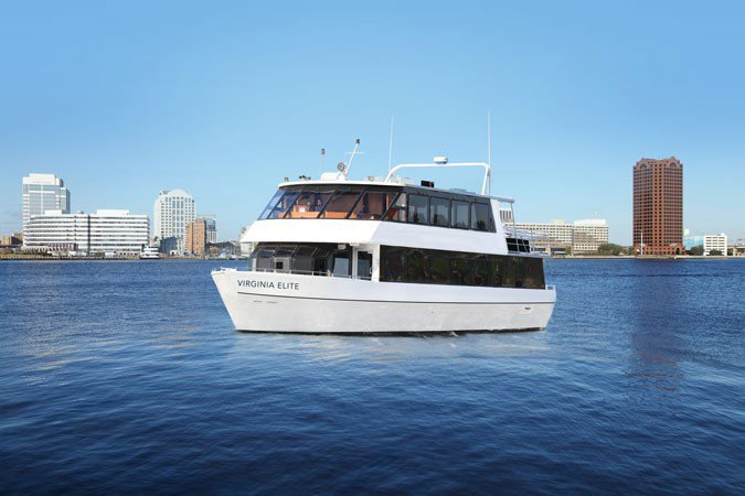 Motor yacht boat rental in Norfolk, VA