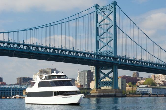 Up to 110 persons can enjoy a ride on this Motor yacht boat