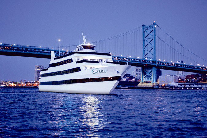 Discover Philadelphia, surroundings on this Custom Custom boat