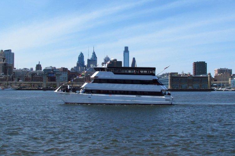 Explore Philadelphia onbaord this awesome yacht