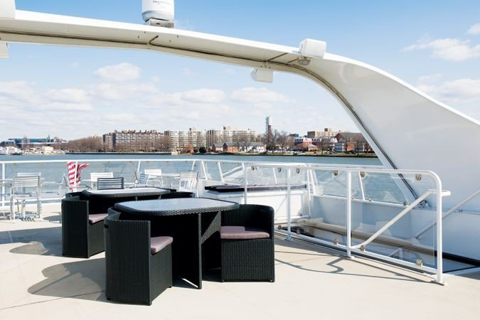 Up to 80 persons can enjoy a ride on this Motor yacht boat