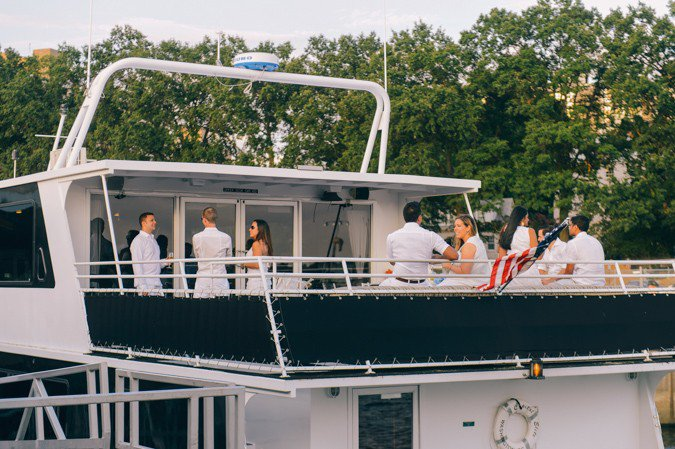 Charter an elegant motor yacht in Washington D.C.