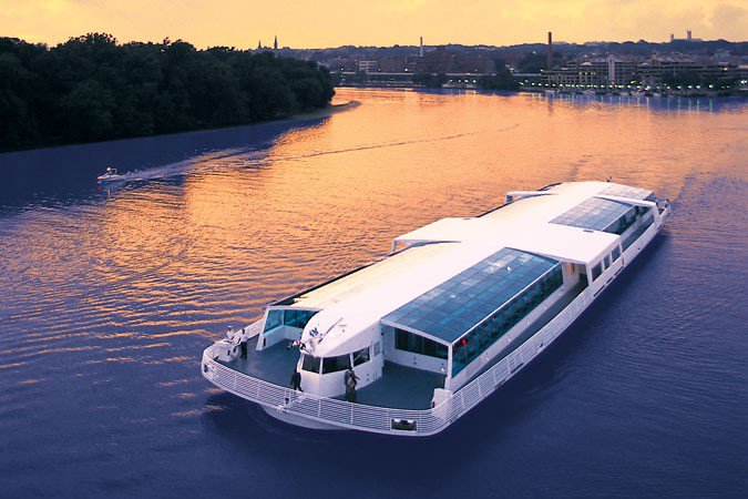 Mega yacht boat rental in Washington, DC