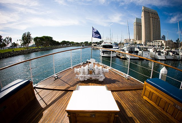 Boating is fun with a Mega yacht in San Diego