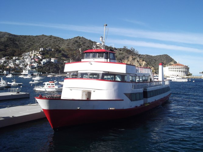 Explore Long Beach on biggest motor yacht
