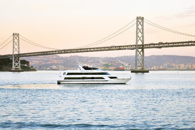 Rent a luxurious yacht perfect for parties and events in San Francisco