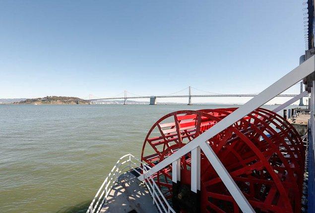 Mega yacht boat rental in San Francisco, CA