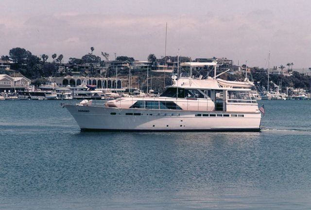 Explore Newport beach on a perfect mid-size event yacht