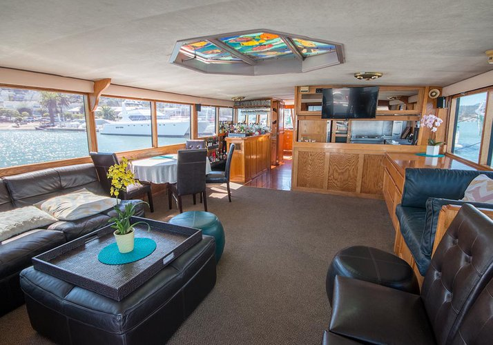 Motor yacht boat for rent in Sausalito
