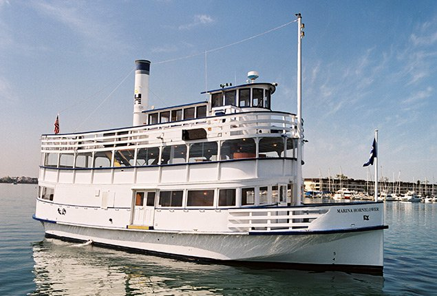 Explore Marina Del Ray on the classic nautical style Yacht