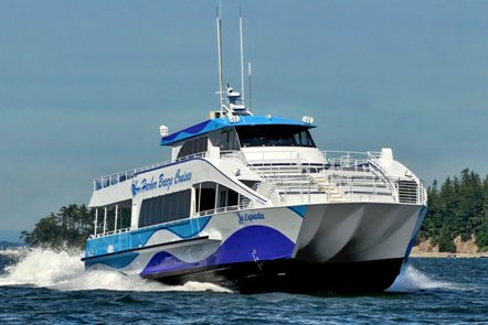 This 85.0' Custom cand take up to 250 passengers around Long Beach