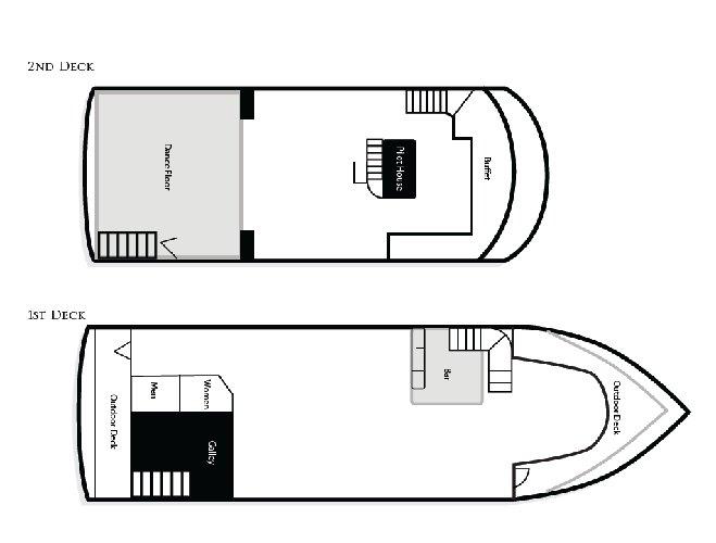 Discover Alameda surroundings on this Custom Custom boat