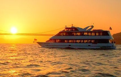 Up to 130 persons can enjoy a ride on this Mega yacht boat