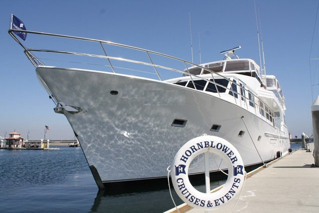 Enjoy cruising in Marina Del Ray on splendid motor yacht