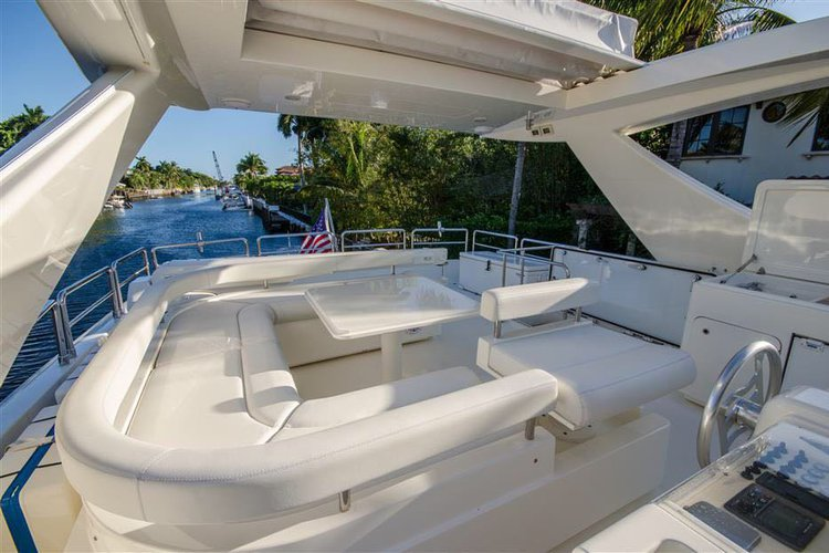 Boat for rent Ferretti 75.0 feet in Island Garden Marina, FL