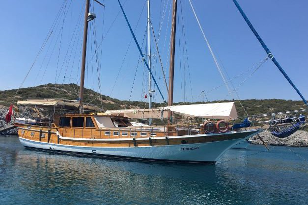 Discover Bodrum surroundings on this Gulet Bodrum Yacht Wooden Ketch Gulet boat