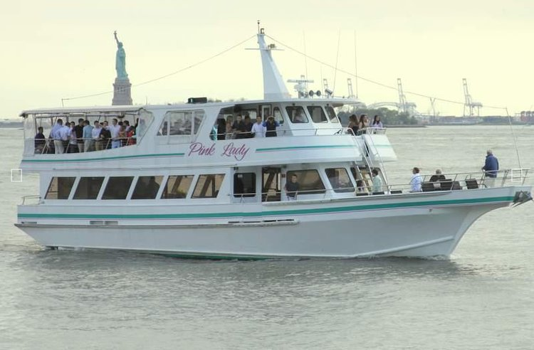 Rent this elegant motor yacht in New York