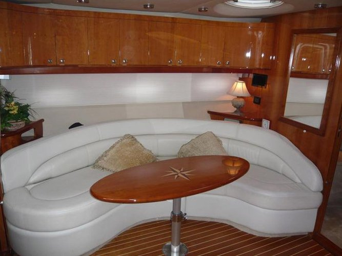This 45.0' REGAL cand take up to 8 passengers around Alimos