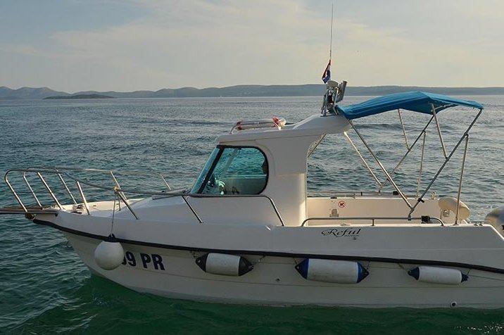 Boat for rent Reful 23.0 feet in Ugljan,