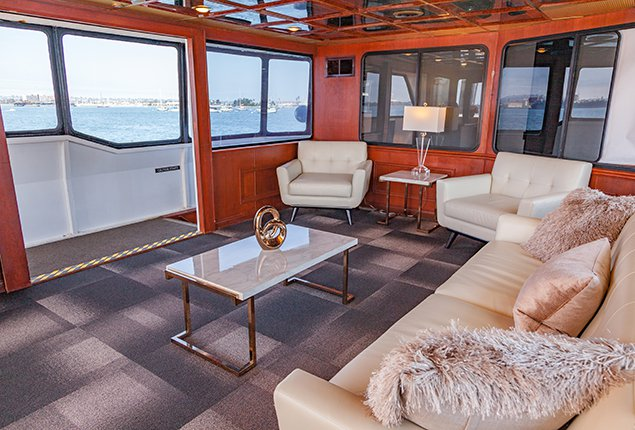 Mega yacht boat rental in San Diego, CA