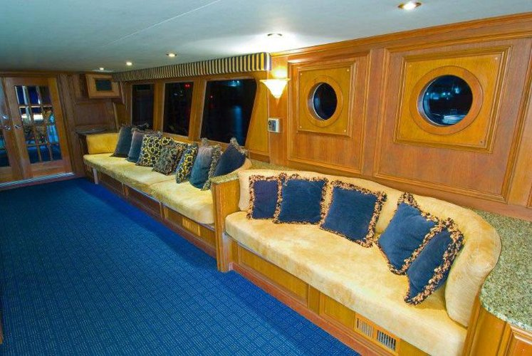 Up to 65 persons can enjoy a ride on this Motor yacht boat