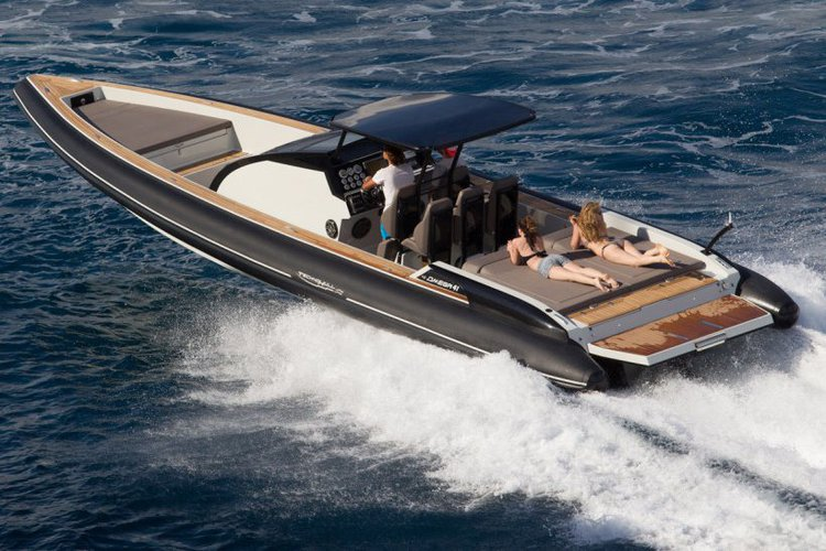 Rigid inflatable boat rental in Athens, Greece