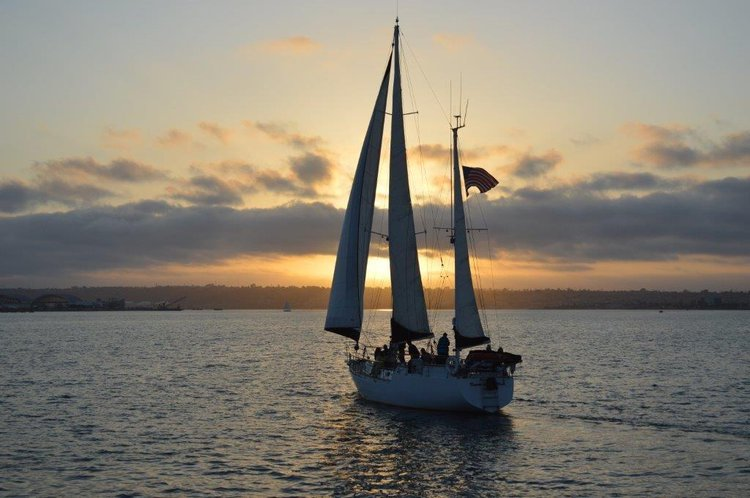 Boating is fun with a Ketch in San Diego