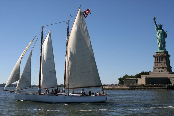 Enjoy evening cocktail party onboard this classical sailing yacht