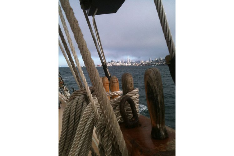 Boating is fun with a Schooner in Sausalito