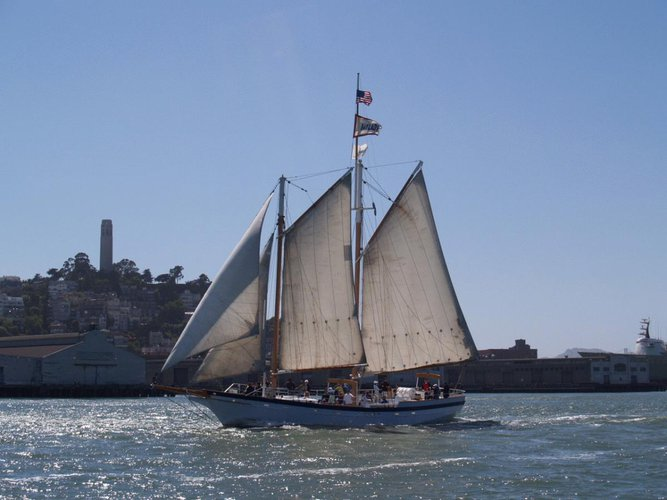 Set Sail in San Francisco onboard a Classic Schooner