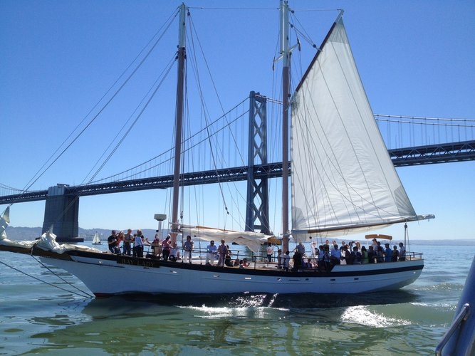 Schooner boat rental in San Francisco, CA