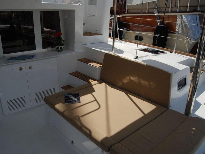 Catamaran boat rental in Alimos, Athens, Greece, Greece