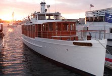 Cruise Marina Del Ray on the sleek motor yacht
