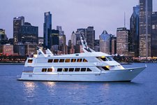 Set sail in Chicago on luxurious & comfortable motor yacht
