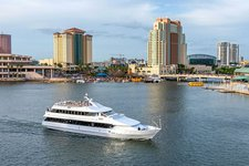 Set sail in Tampa on Luxurious yacht